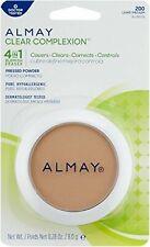 Almay Clear Complexion Pressed Powder. 4 in 1 Blemish Eraser. LIGHT/MEDIUM 200