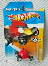 ANGRY BIRDS (RED BIRD Vehicle #V5335) Hot Wheels (2012 New Models Series #47/50)