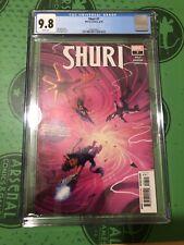 Shuri #7 CGC 9.8 (Black Panther) Shuri as Black Panther Miles Morales Ms Marvel