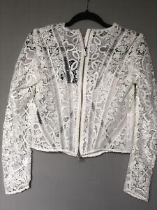 The Kooples Lace Jacket Size S