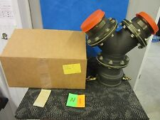 """PARKER ANDREWS PIPE FITTING Y CONNECTOR QUICK DISCONNECT 4"""" GAS FUEL NEW"""