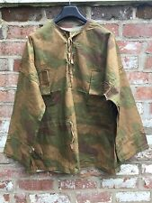 WW2 GERMAN Wehrmacht Tan & Water Smock Size III 46/48inRepro Heer Camo Uniform