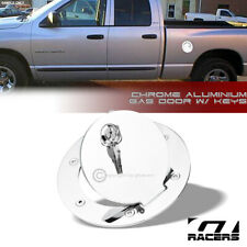 97-12 Dodge Dakota AutoModZone Chrome ABS Fuel Tank Gas Door Cap Cover for 02-08 Dodge Ram