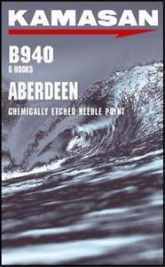 Kamasan B940 Carbon Aberdeen Hooks All Sizes Sea Fishing