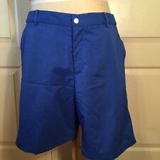 Nike Mens Size 38 Golf Shorts Modern Tech Woven Cobalt Blue 725706-480