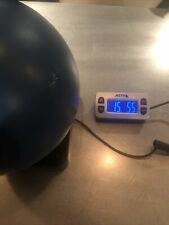 New listing Faball Original Urethane BLUE Hammer Bowling Ball 15lbs 5 Ozs SINGLE Drill Nice