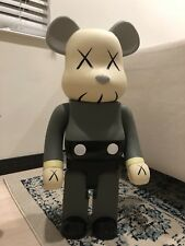 1000% Be@rbrick 70cm Medicom Toy Kaws Gray Bearbrick Action Figure Replica