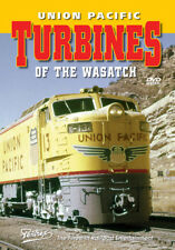 Union Pacific Turbines of the Wasatch DVD Pentrex Gas UP Ogden to Green River