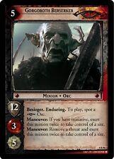 Lord of the Rings LOTR TCG Siege of Gondor 8R96 Gorgoroth Berserker Foil Card
