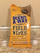 Hunter Specialties Scent-A-Way Field Wipes 24-Pack #01186