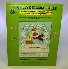 Chilly Decoding Skills Clothespin Games Homeschool Learning Language English