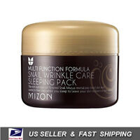 [ MIZON ] Snail Wrinkle Care Sleeping Pack 80ml +NEW Fresh+