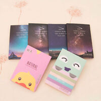 50 Sheets Make Up Oil Absorbing Blotting Facial Face Clean Paper Beauty HGUK