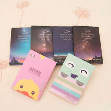 50 Sheets Make Up Oil Absorbing Blotting Facial Face Clean Paper Beauty DSUKHC