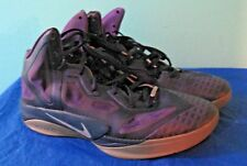 Nike Air Zoom Hyperfuse 469757-500 Purple Gray Basketball Shoes (Size 12)