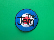 HEAVY METAL PUNK ROCK MUSIC SEW ON / IRON ON PATCH:- THE JAM (b) MOD TARGET