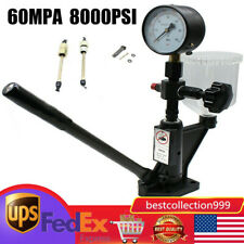 Fuel Pressure Tester Diesel Injector Nozzle Pop Tester Withdual Scale Gauge Filter