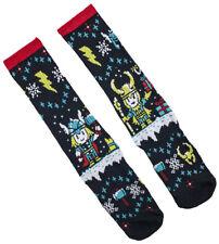 Thor Loki Ugly Christmas Socks - 1 Pair - Loot Crate Exclusive