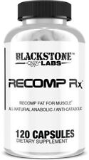 Blackstone Labs Recomp RX (120 Caps) All Natural Fat For Muscle Supplement NEW!