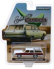 1:64 GreenLight *ESTATE WAGONS 2* WHITE 1989 Mercury Grand Marquis Colony *NIP*
