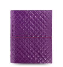 Filofax Domino Luxe A5 Organizer Purple 027986
