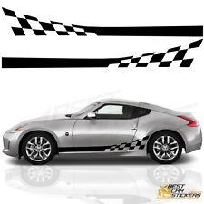 Fits Nissan 350Z/370Z Side Racing  Stripes Car Stickers
