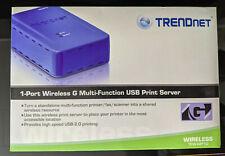 Trendnet Tew-Mp1U Wireless, 10/100, Usb 2.0 1-Port Print Server