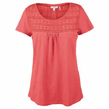Fat Face Cotton Short Sleeve Tops & Shirts for Women