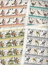 Montserrat 7273 - 1985 AUDUBON BIRDS x 25 sets GENUINE FORMAT SHEETS