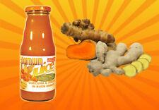 12 bouteilles jus de Ananas Curcuma et Gingembre 200ml. Premium Fruit Sans sucre