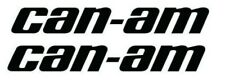 """Can Am Pair 5"""" 9"""" 11"""" 16"""" Decal Stickers Pick size and Color. Tracked Shipping"""