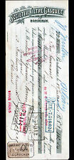 """BORDEAUX (33) MOTOPOMPE """"Sté du FILTRE GASQUET"""" en 1911"""