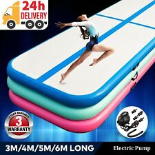 Air Track Gymnastics Mat Inflatable Airtrack Tumbling Floor Yoga Gym Tumble Mats