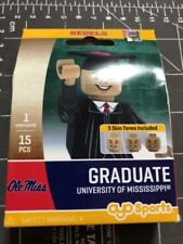 Oyo Sports Minifigure University Mississippi Ole Miss Graduate Alum Lego Male MS