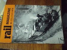 1ùµ?  Revue Rail Magazine n°15 Rheingold / 230 E 93-Velox / 231 B / BB 7003