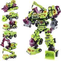 Jinbao Oversize Devastator Transformation Gravity Builder Figure Toy Kid Set NBK
