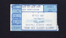 1985 The Cure Concert Ticket Stub Seattle WA The Head on the Door Robert Smith