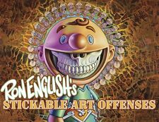 Ron English's Stickable Art Offenses by Ron English Randy Johnson NEW
