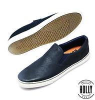 New Men's Casual Striper Slip On Sneaker & Slip Ons Comfort Holly Shoes (VEG063)