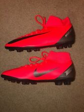 Nike Men's Superfly 6 Cr7 Club Size 11 Fg Mg Soccer Cleats Red Aj3545-600 New