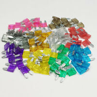 100 Piece Mini Blade Fuse Assorted Kit Mixed Car Van Bike Amp Amps A