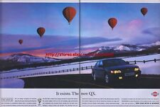 "Nissan QX ""It Exisits"" 1995 Magazine Advert #2336"
