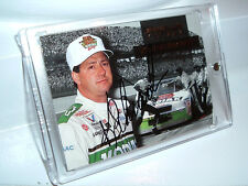 Ken Schrader Autographed 1994 Finish Line Gold Card  #19 - NMNT
