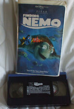 Walt Disney Pixar Finding Nemo Vhs Movie Tape VCR