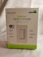 Leviton DW6HD-1BZ Decora Smart Wi-Fi 600W Incandescent/300W LED Dimmer
