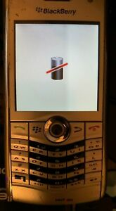 BlackBerry Pearl 8130 - Silver (Verizon) Smartphone  !! FOR PARTS ONLY !!
