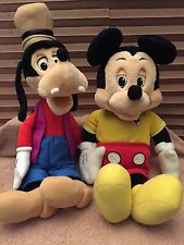 1986 WOW MICKEY MOUSE & GOOFY 100% RESTORED  WITH ALL 13 BOOKS / TAPES/CABLE