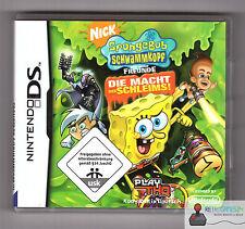 ★ Nintendo DS - Spongebob Schwammkopf und seine Freunde Die Macht des Schleims ★