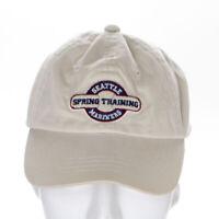 Seattle Mariners MLB Spring Training 2001 Peoria Az. Tan YOUTH Adjustable