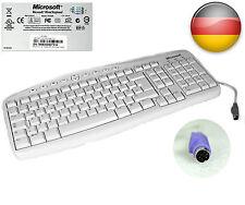 ORIGINAL TASTATUR MICROSOFT RT2300 MIT PS/2 ANSCHLUSS TASTATURLAYOUT GERMANY #23
